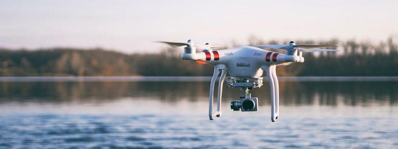 pista di atterraggio per droni