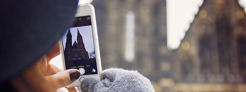 guanti per smartphone